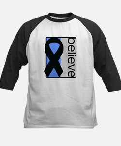 Blue and Silver (Believe) Ribbon Tee