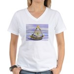 Past Master Women's V-Neck T-Shirt