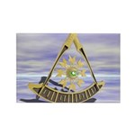 Past Master Rectangle Magnet (10 pack)