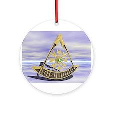 Past Master Ornament (Round)