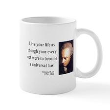 Immanuel Kant 3 Small Mug