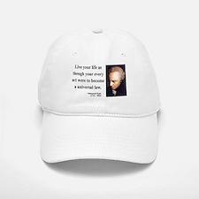 Immanuel Kant 3 Baseball Baseball Cap