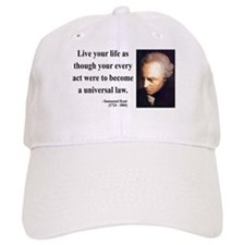 Immanuel Kant 3 Baseball Cap
