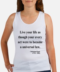 Immanuel Kant 3 Women's Tank Top