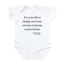 Immanuel Kant 3 Infant Bodysuit