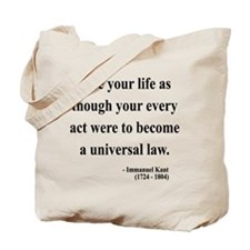 Immanuel Kant 3 Tote Bag