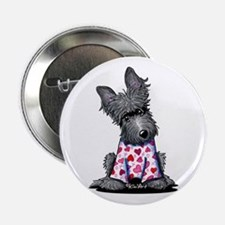 "PJs Scottie Terrier 2.25"" Button"