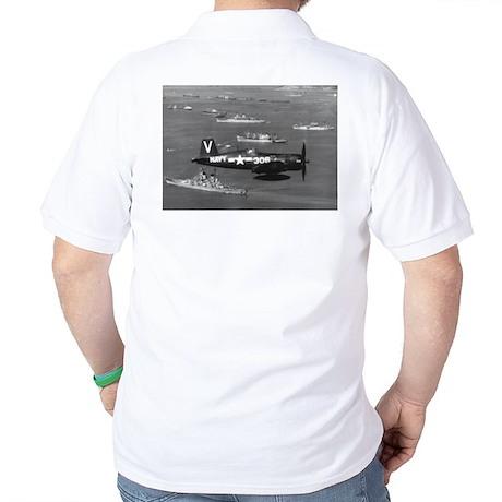 F4U-4B CORSAIR FIGHTER Golf Shirt