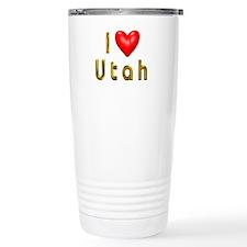 Love Utah Travel Mug
