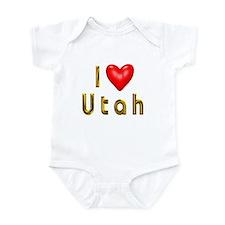 Love Utah Infant Bodysuit