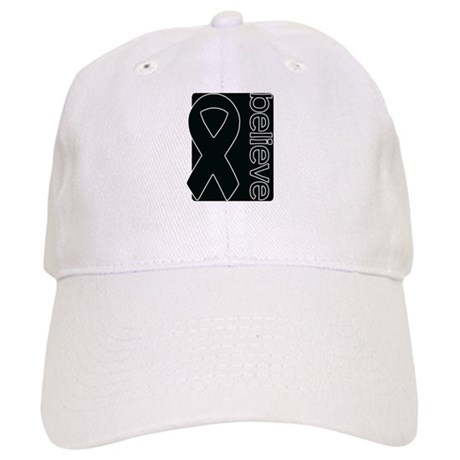Black (Believe) Ribbon Cap