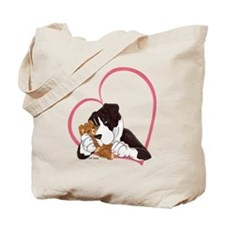 NMtl Ted Heartline Tote Bag