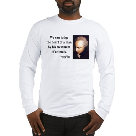 Immanuel Kant 4 Long Sleeve T-Shirt