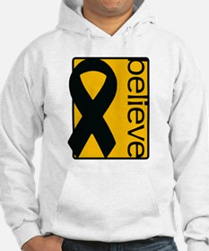 Amber ribbon - appendix cancer Hoodie