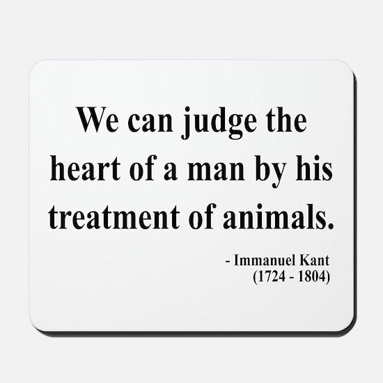 Immanuel Kant 4 Mousepad