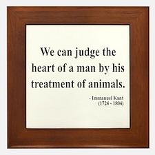 Immanuel Kant 4 Framed Tile