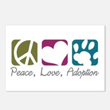 Peace, Love, Adoption Postcards (Package of 8)