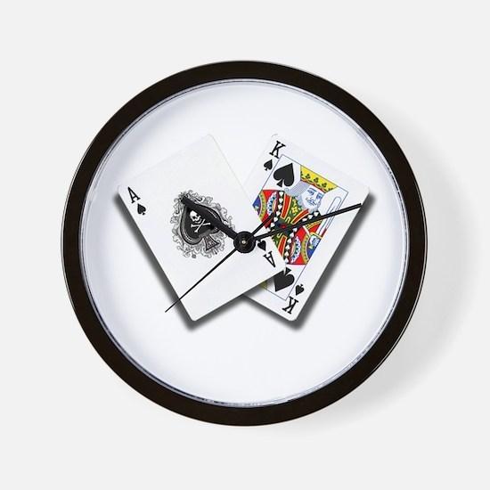 No Limit Poker Products' Big Slick Wall Clock