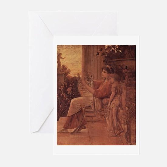 Klimt's Sappho Greeting Cards (Pk of 10)