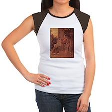 Klimt's Sappho Women's Cap Sleeve T-Shirt