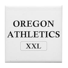 """Oregon Athletics XXL"" Tile Coaster"
