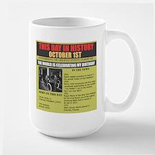 OCTOBER 1ST- BIRTHDAY Mug