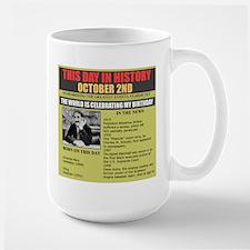 october 2nd birthday Mug