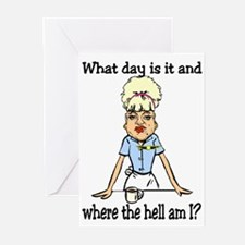 where the hell am I Greeting Cards (Pk of 10)