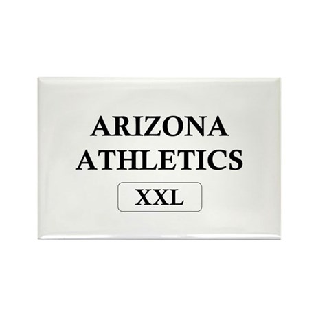 """Arizona Athletics XXL"" Rectangle Magnet (10 pack)"