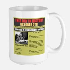 october 5th birthday Mug