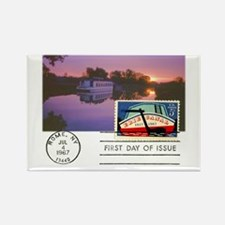 Erie Canal Rectangle Magnet