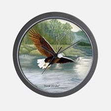 American Bald Eagle Flight Wall Clock