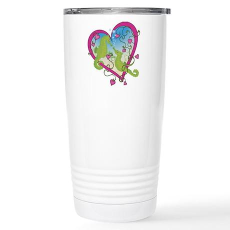Seahorse Love Stainless Steel Travel Mug