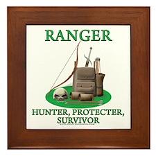 Ranger Code Framed Tile