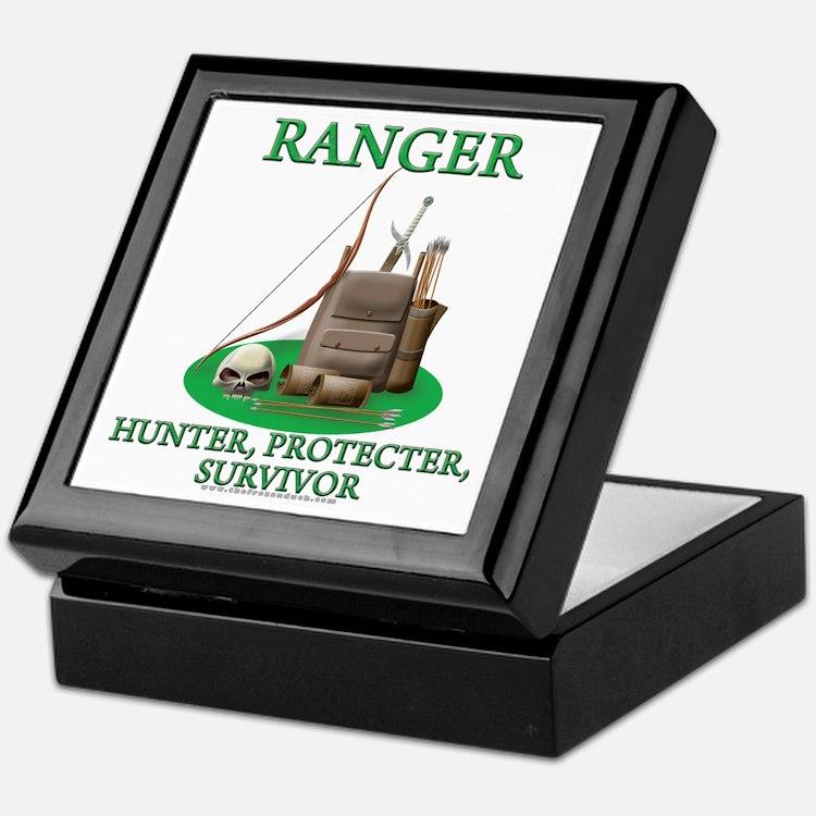 Ranger Code Keepsake Box
