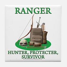 Ranger Code Tile Coaster