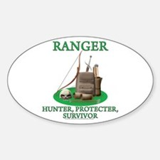 Ranger Code Oval Decal