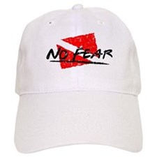 No Fear Dive Flag Baseball Cap