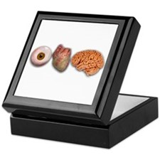I Love Brains (Eye Heart Brai Keepsake Box