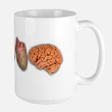 I Love Brains (Eye Heart Brai Mug