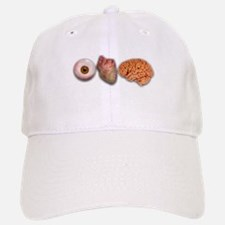 I Love Brains (Eye Heart Brai Baseball Baseball Cap