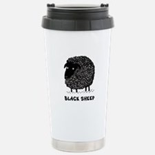 Black Sheep Stainless Steel Travel Mug