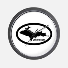 UP Michigan's Upper Peninsula Wall Clock