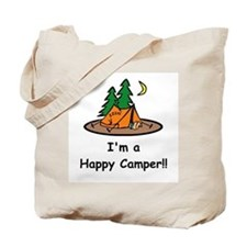 I'm A Happy Camper!! Tote Bag