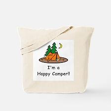 I'm A Happy Camper!! Tote Bag