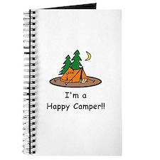 I'm A Happy Camper!! Journal