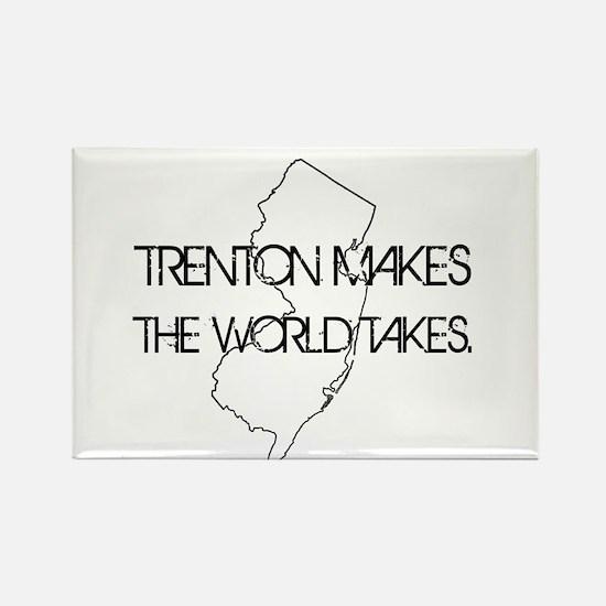 Cute Trenton Rectangle Magnet