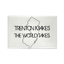 Cute Trenton Rectangle Magnet (10 pack)
