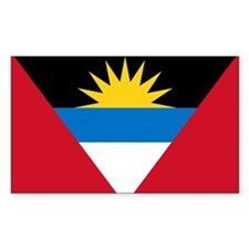Flag of Flag of Antigua and Barbuda Decal