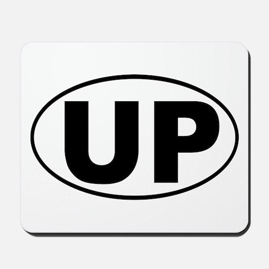 The UP basic Mousepad